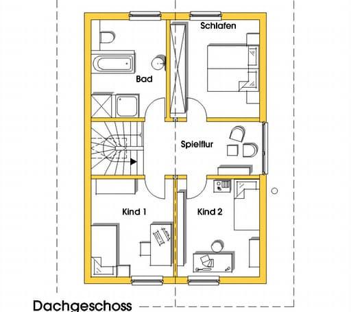 Nicole (KfW-Effizienzhaus 55) floor_plans 0