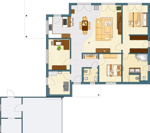 NIVO 130 Floorplan 1