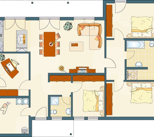 NIVO 140 F Floorplan 1