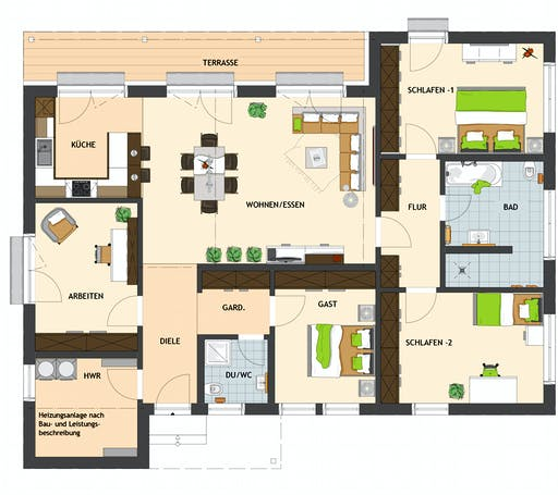 NIVO 140W Floorplan 1