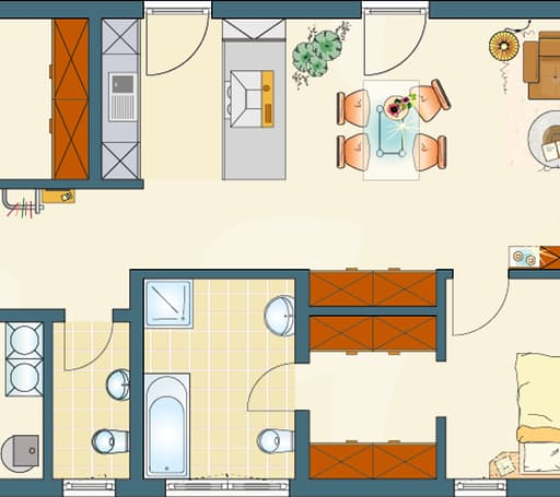 NIVO 95 F Floorplan 1