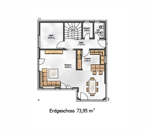 Das Noble P 155 Floorplan 1