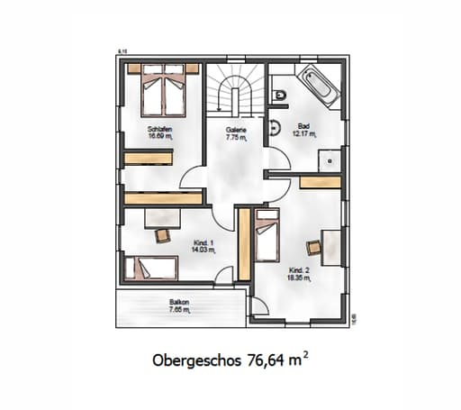 Das Noble P 155 Floorplan 2
