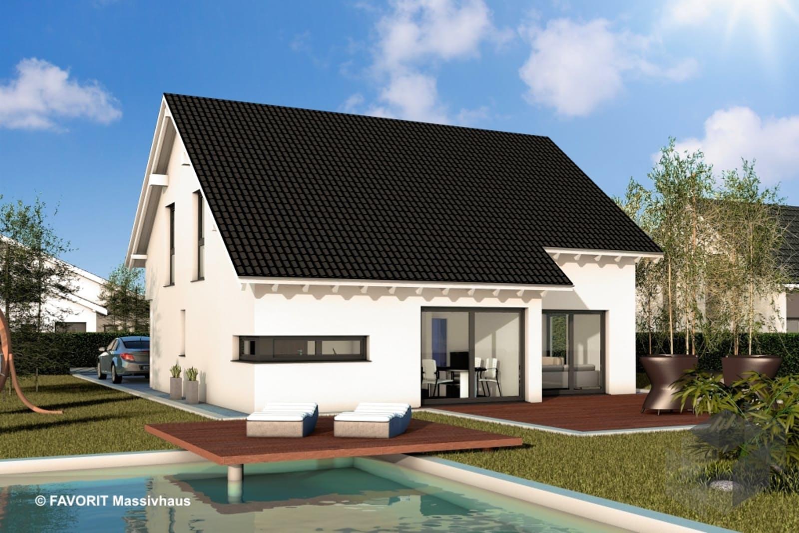 noblesse 155 von favorit massivhaus komplette daten bersicht. Black Bedroom Furniture Sets. Home Design Ideas
