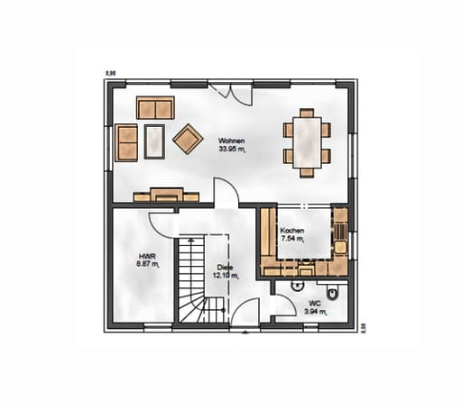 Das Noble W 130 Floorplan 1
