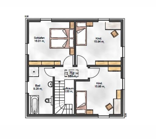 Das Noble W 130 Floorplan 2