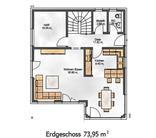 Das Noble W 155 Floorplan 1