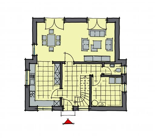 Gussek Haus - Nussbaumallee EG