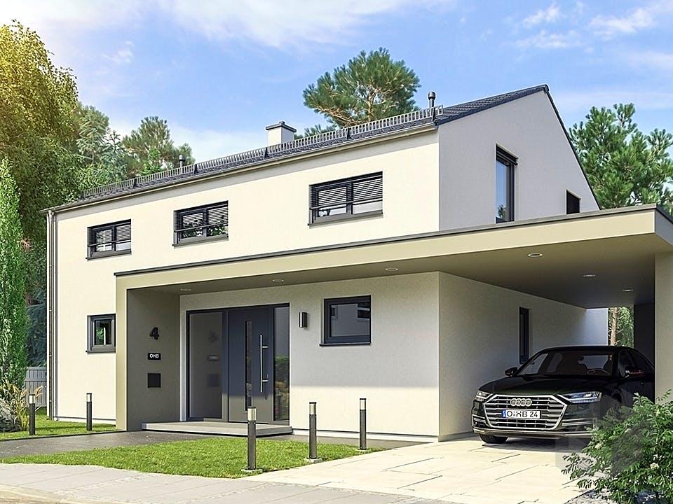 Hausidee Bad Staffelstein von OHB Hausbau-Gruppe Außenansicht
