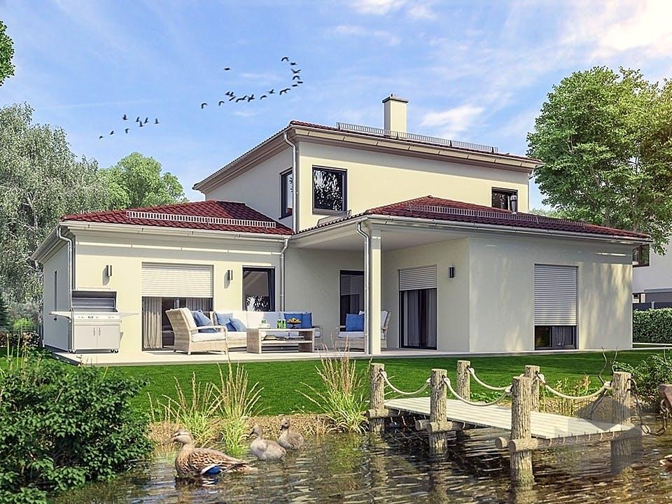 Hausidee Bayreuth von OHB Hausbau-Gruppe Außenansicht