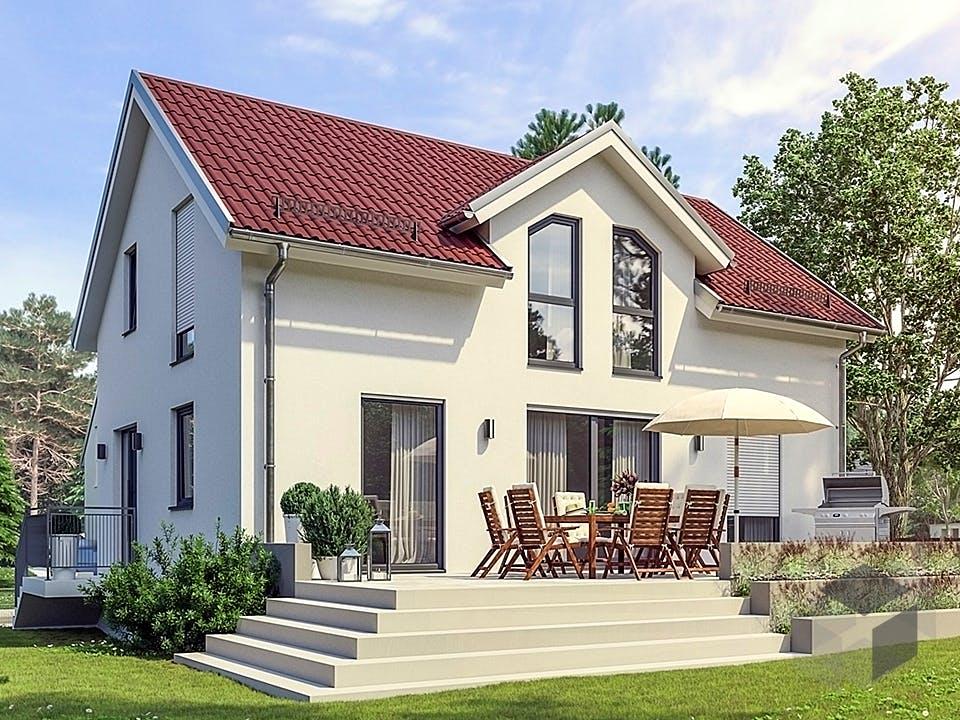 Hausidee Meiningen von OHB Hausbau-Gruppe Außenansicht