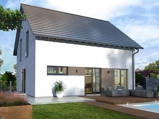 Design 15 von OKAL - Musterhaus Günzburg Außenansicht 1