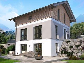 Designhaus am Berg (inkl. Keller) von OKAL - Musterhaus Günzburg Außenansicht 1