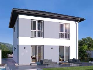 Stadtvilla 11 von OKAL - Musterhaus Günzburg Außenansicht 1