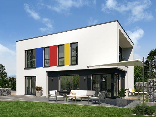 Bauhaus 13 von OKAL Haus Außenansicht 1