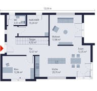 Bauhaus 13 Grundriss