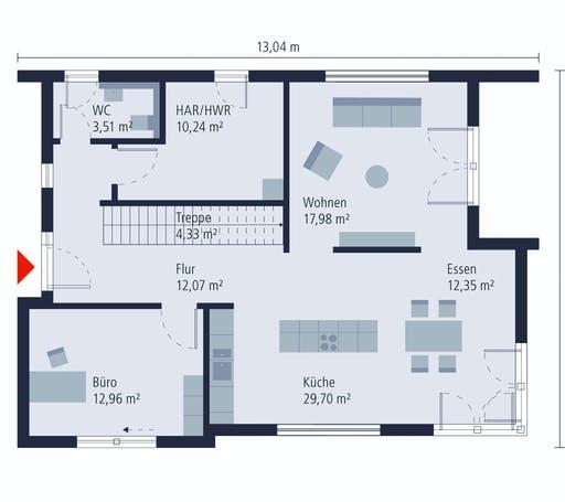 Okal Bauhaus 13 Floorplan 1