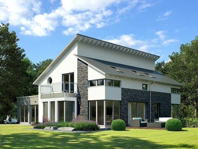 Musterhaus Bad Vilbel von OKAL Haus Außenansicht 1
