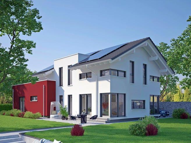Musterhaus Estenfeld von OKAL Haus Außenansicht 1