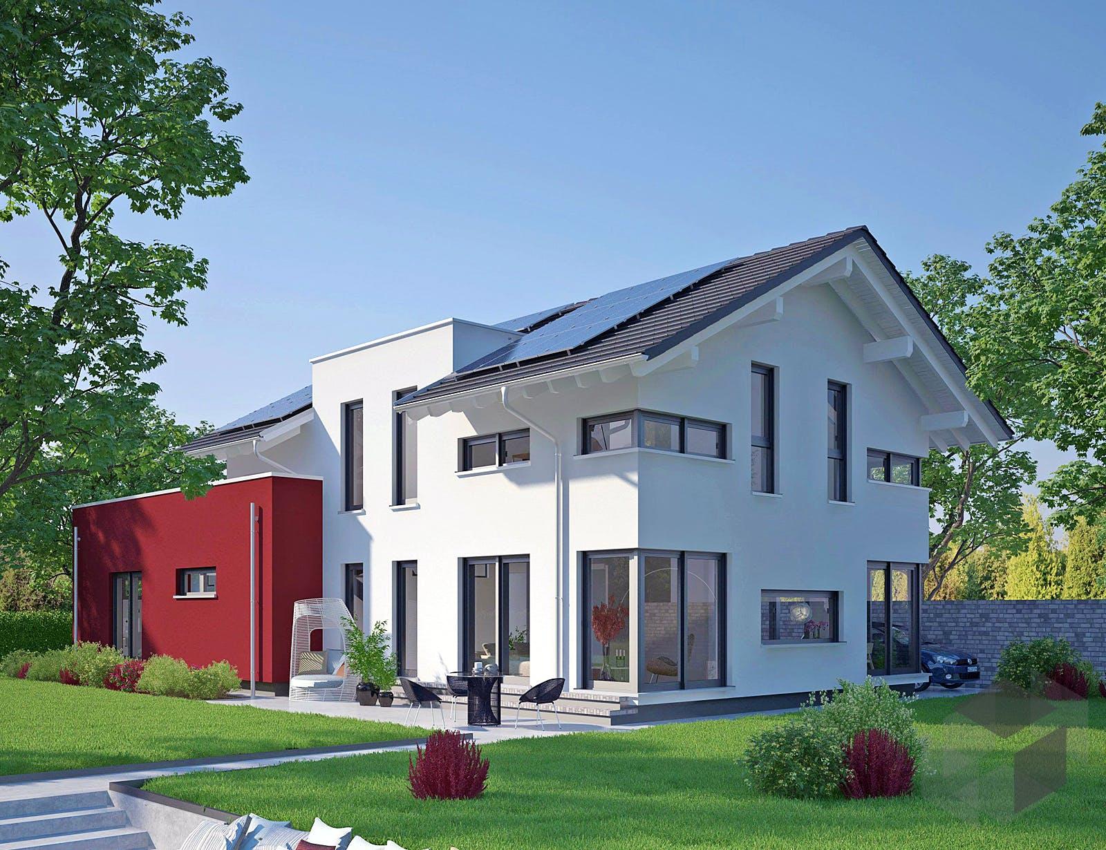 musterhaus estenfeld von okal haus. Black Bedroom Furniture Sets. Home Design Ideas