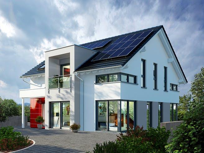 Musterhaus Fellbach von OKAL Haus Außenansicht 1