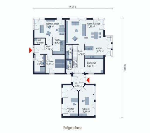 OKAL MH Kaarst Floorplan 1
