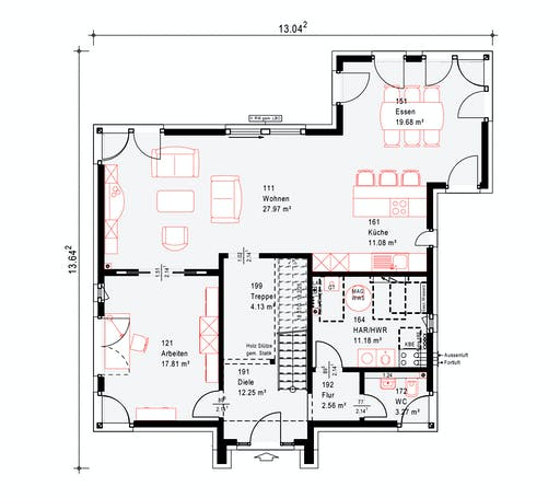 Okal MH Köln Floorplan 1