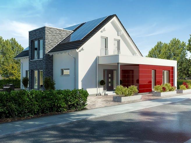 Musterhaus Langenhagen von OKAL Haus Außenansicht 1