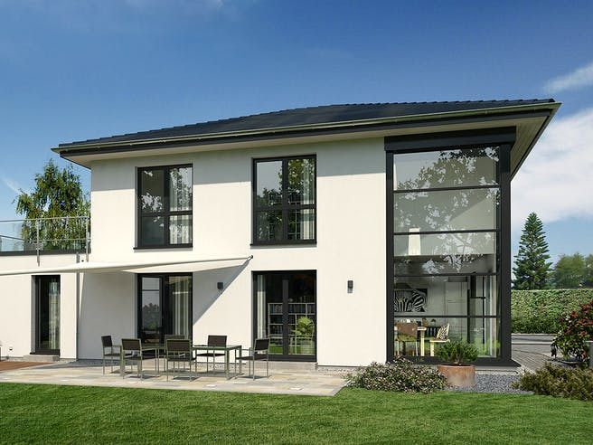 Musterhaus Lotte von OKAL Haus Außenansicht 1