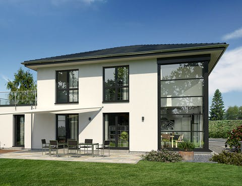 Einfamilienhaus Musterhaus Lotte von OKAL Haus | Fertighaus.de