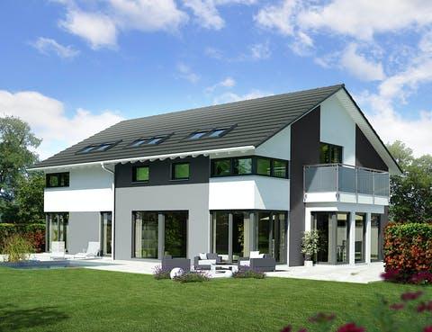 Zweifamilienhaus Musterhaus Mannheim von OKAL Haus ...