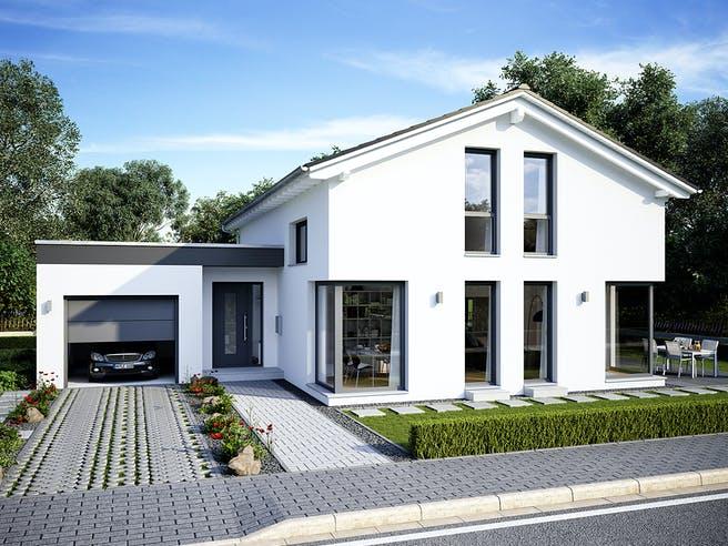 Musterhaus Mülheim-Kärlich von OKAL Haus Außenansicht 1