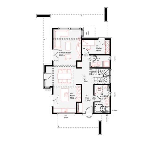 Okal MH Poing Floorplan 1