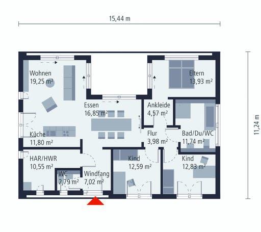 Okal MH Stelle Floorplan 1