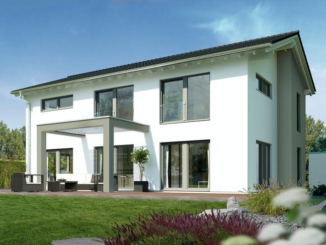 Musterhaus Villingen-Schwenningen von OKAL Haus Außenansicht 1