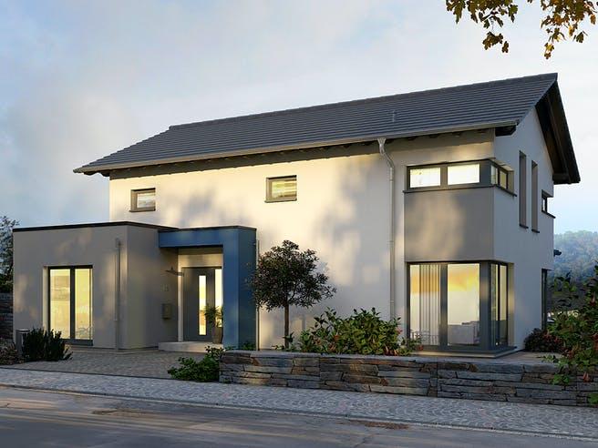 Musterhaus Werder von OKAL Haus Außenansicht 1