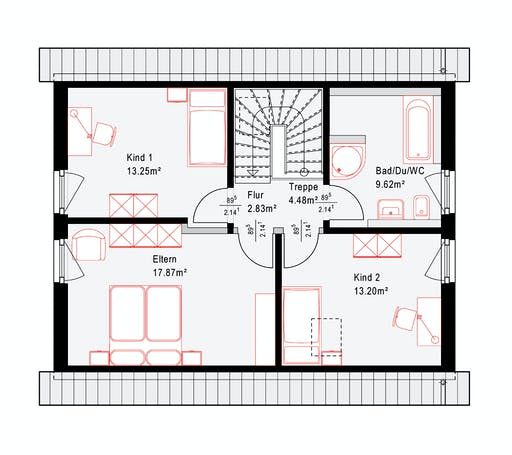 Okal Revolution 124 V1 Floorplan 2