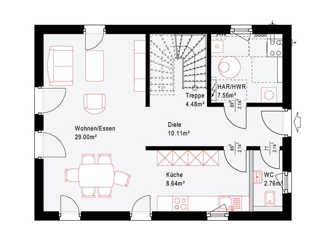 Okal Revolution 124 V4 Floorplan 1