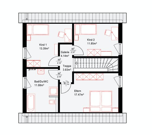 Okal Revolution 126 V1 Floorplan 2