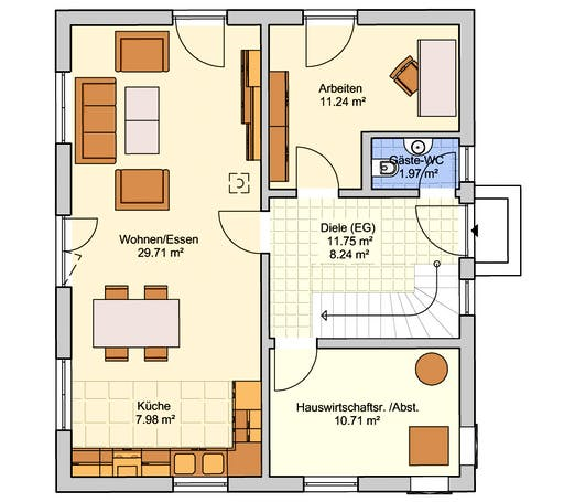Oslo Floorplan 1