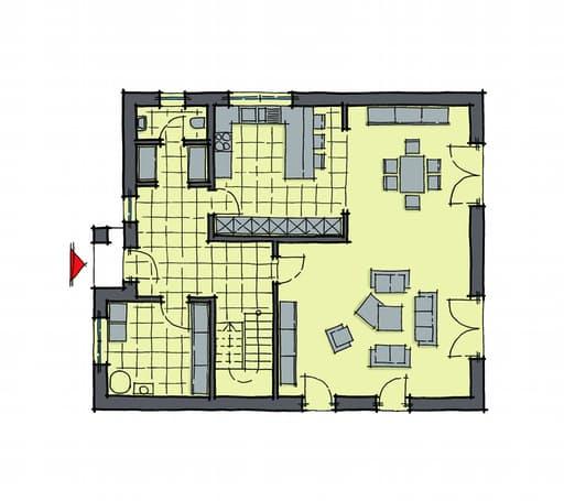 Gussek Haus - Ostia EG