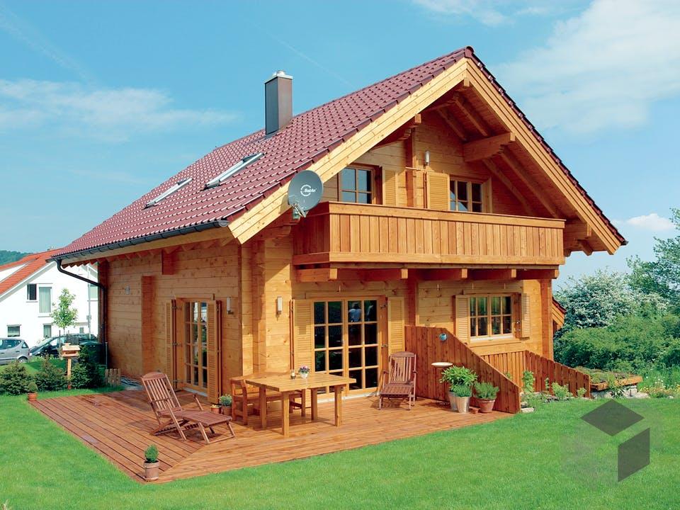 Ottenbach von Rems-Murr-Holzhaus Außenansicht