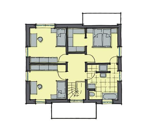 Gussek Haus - Pappelallee Var. 1 DG