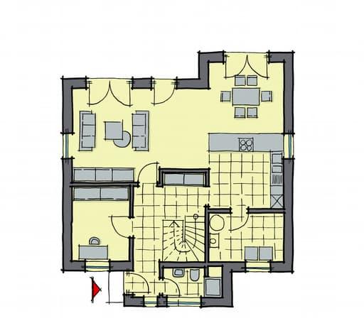 Gussek Haus - Pappelallee Var. 1 EG