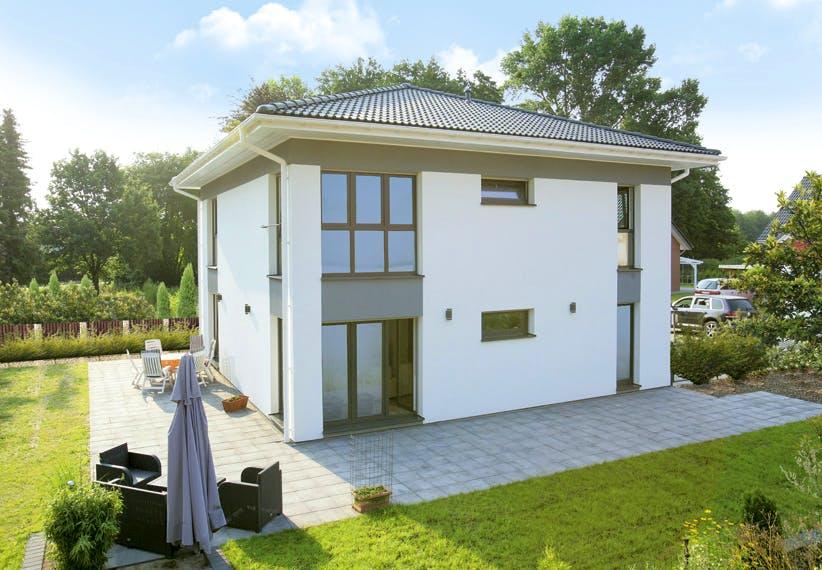 Musterhaus bon Dan-Wood-House in Österreich