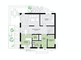 Park 169 W von DAN-WOOD HOUSE Grundriss 1