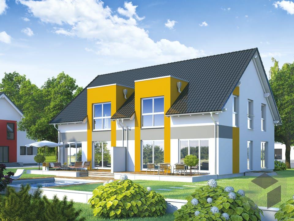 Partner 128 von DAN-WOOD HOUSE Außenansicht
