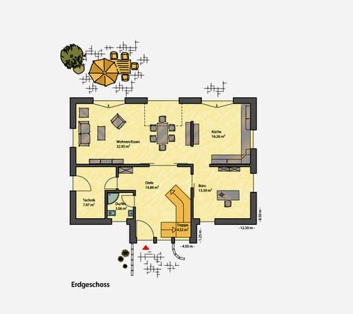 Passiv Pur Pultdach floor_plans 1