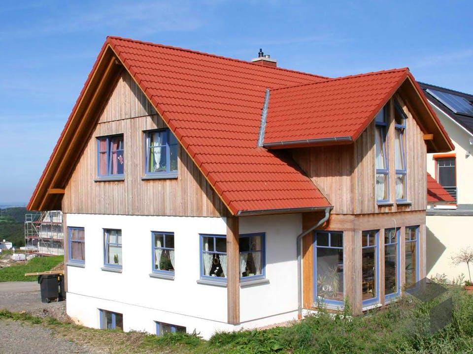 Patricia (KfW-Effizienzhaus 40) von Dammann-Haus Außenansicht