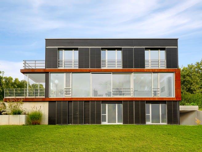 Pawliczec - Kundenhaus von Baufritz Außenansicht 1